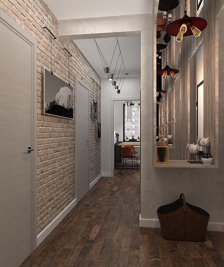 Фото из статьи: Ремонт за 4 месяца: квартира холостяка площадью 56 метров в стиле лофт
