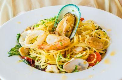 Spaghetti met Zeevruchten Frutti di mare