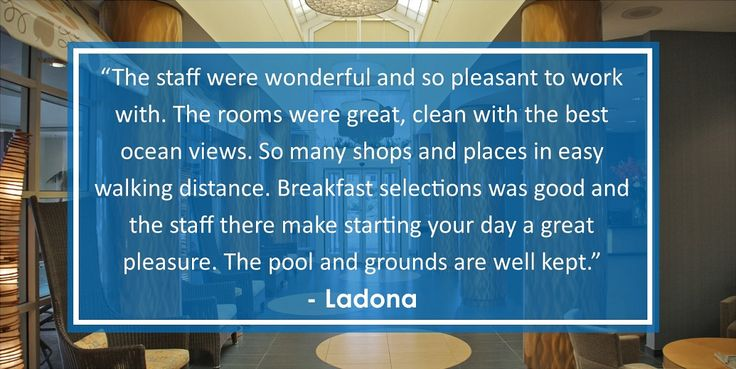 Check out some of our great guest reviews posted to TripAdvisor! We're the #4 hotel in Virginia Beach of over 100+ hotels! Here at the Hampton Inn by Hilton Virginia Beach Oceanfront North, you're always family!
