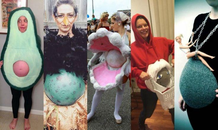 14 grávidas que zeraram a criatividade na hora de se fantasiar para o Halloween