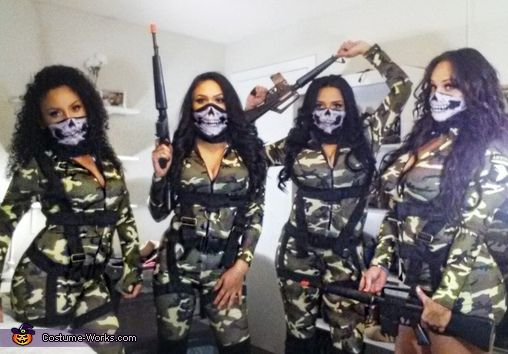 Call of Duty Girls Costume