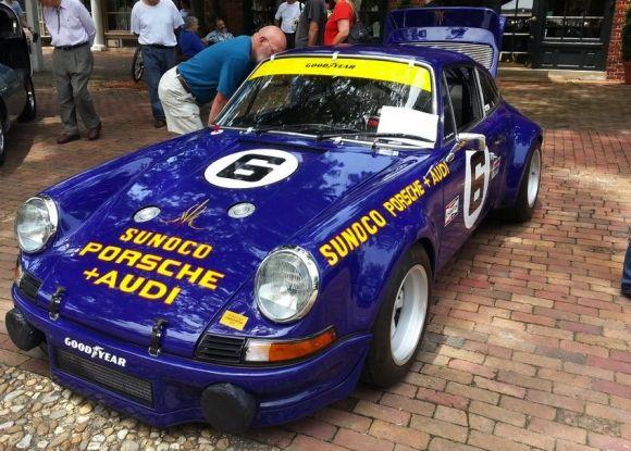 Impressive 1973 Porsche 911t Sunoco Rsr Tribute Porsche