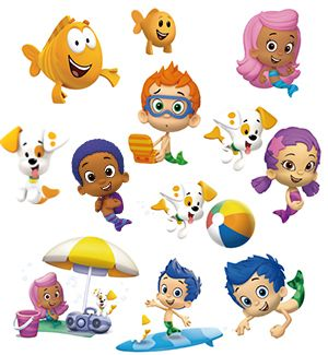 free bubble guppies birthday printables - Google Search