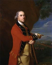 Thomas Gage, best known for his many years of service in North America and Military Commander during the early days of the American Revolution.