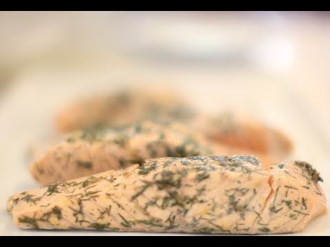 Sous-Vide Salmon with Flowering Thyme - YouTube