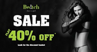 Find out Bwitch New Year promotion codes, online vouchers discount, best deals & offers for 2013 to save your money. Always visit discountcouponwala.com before online shopping for latest coupons of Bwitch.