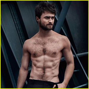 Holy Crap... Harry Potter's hot! Daniel Radcliffe Goes Shirtless in Sexy 'Vanity Fair Italia' Shoot!