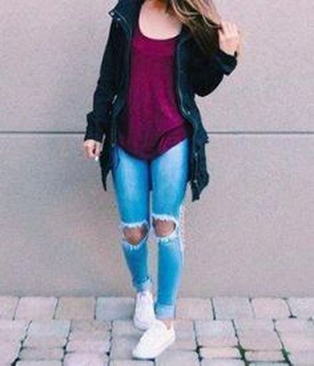 99 Classy Back To School Outfits Ideas for Spring 2019 – Outfits Für Teenager