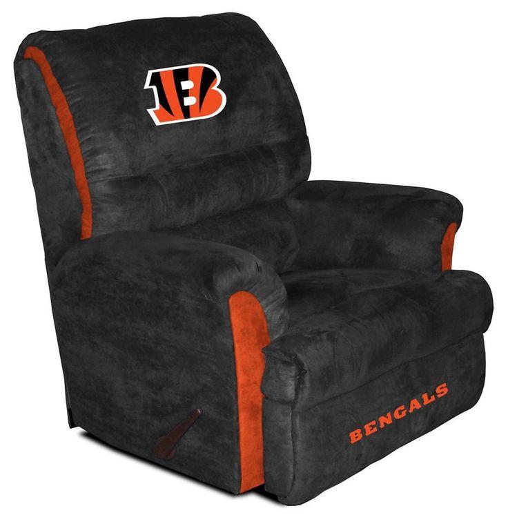 NFL - Cincinnati Bengals Big Daddy Recliner , Cincinnati Bengals - eFamilyFun