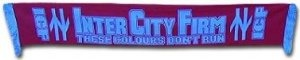 West Ham ICF Hooligans Scarf by West Ham United F.C.. $11.66. This West Ham Inter City Firm ICF scarf is ideal to show that these colours don't run. 100% acrylic