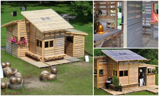 Pallehus kan huse millioner av flyktinger – Og du kan også bygge ditt eget lille hus!