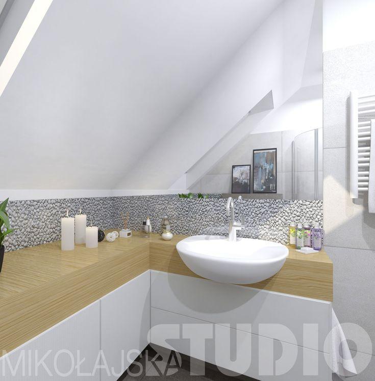 Projekt łazienki dla gości