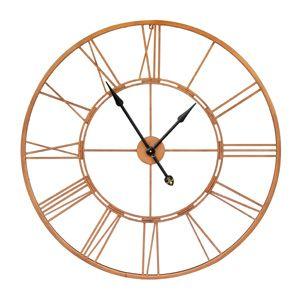 Copper Clock 76cm