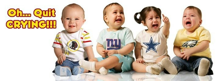 Baby NFC East yay  #redskins boo #eagles #cowboys #giants