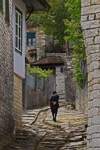 Dilofo village in central Zagori ~ Epirus