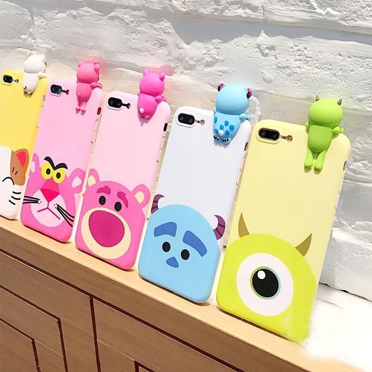 Disney Pixar Characters 3D Cartoon phone Cases for iPhone 7 7 Plus iphone 6 6s 6plus #IphoneCases #iphone7pluscase #iphone6splus,