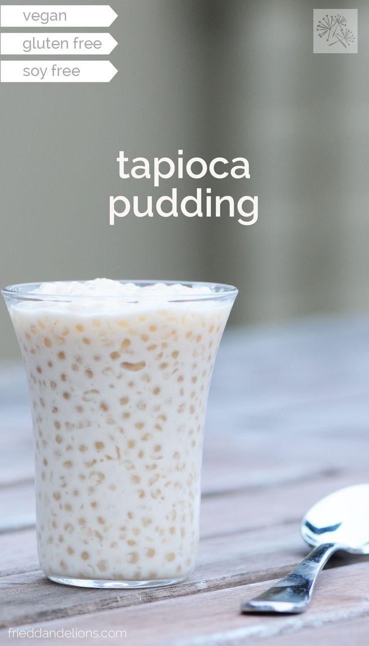 fried dandelions // coconut tapioca pudding