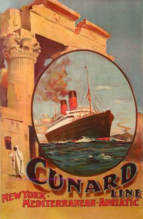 Rosenvinge Cunard Line 62X101 Turner & Dunnet | Flickr - Photo Sharing!