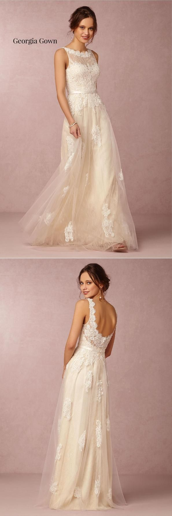 BHLDN Georgia Gown|BHLDN Seraphina Gown|10 Must-See Wedding Dresses Under $1000