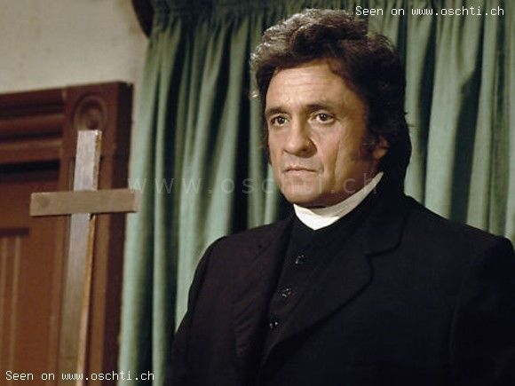Johnny Cash as Caleb Hodgekiss...one of my favorite episodes of Little House on the Prairie.