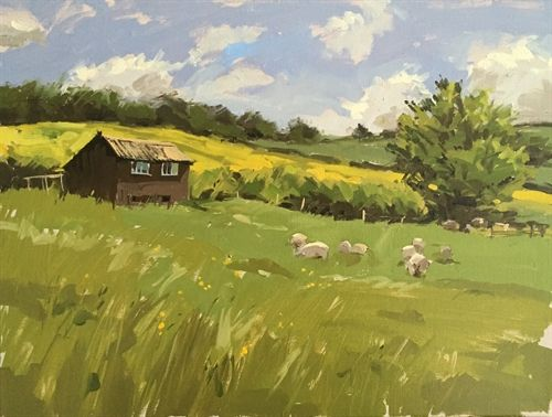 Haidee-Jo Summers lovely vibrant colours in the countryside