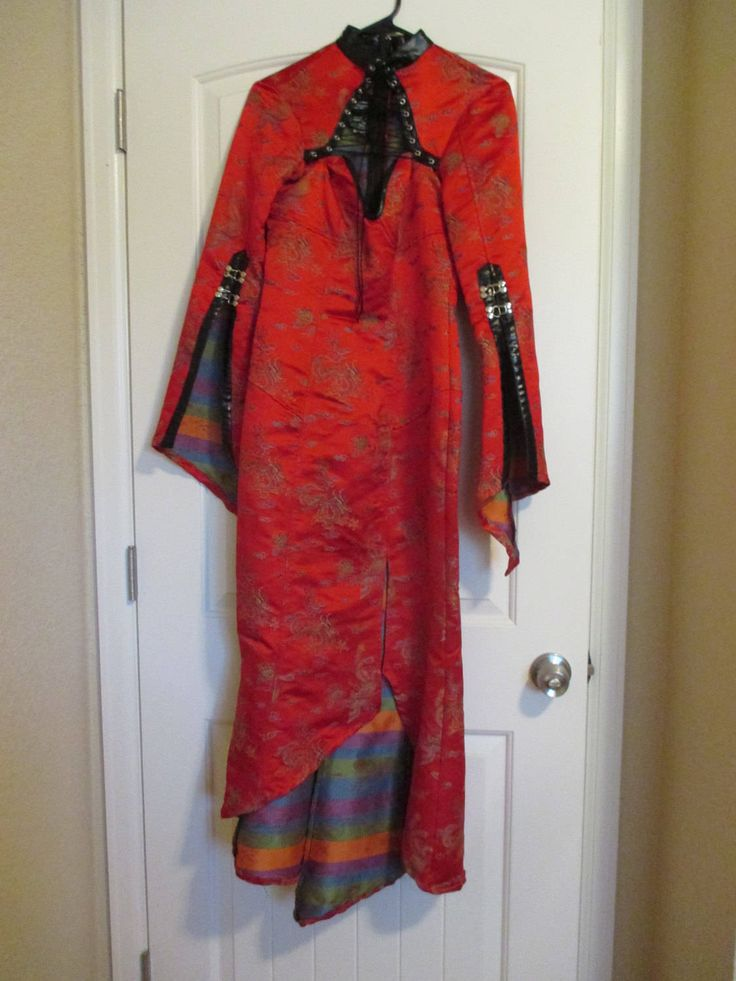 "LIP SERVICE Hollywood Geisha ""Kabukchio"" long dress #35-75"