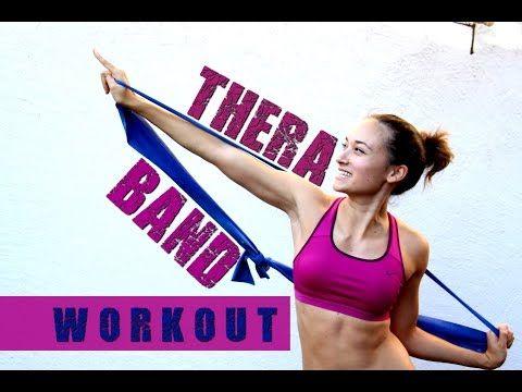 21 Minuten Thera Band / Gummiband Workout -
