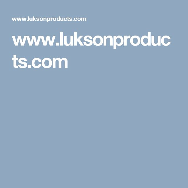 www.luksonproducts.com