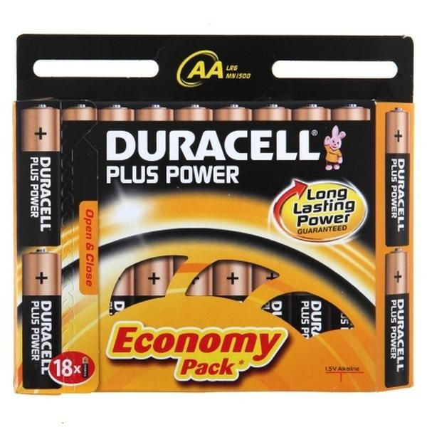 Duracell Plus AAA Batteries give longer life performance in devices such as: Remote Controls Portable MP3 Players and DVD Players. #tech #gadget