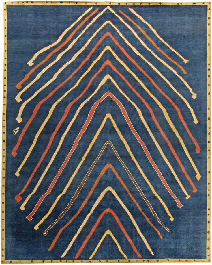 A contemporary rug N11263 by Doris Leslie Blau.