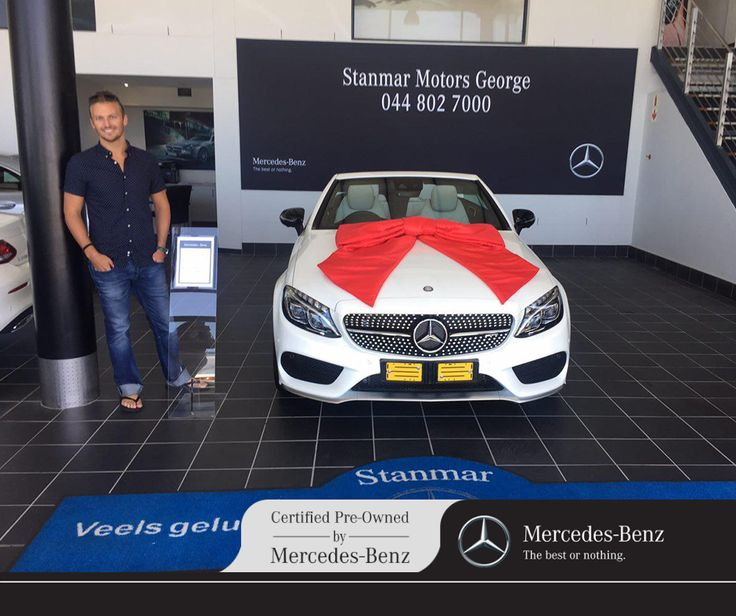Congratulations to Tommy Joyce on purchasing his #MercedesBenz C43 Cabrio. We thank you and wish you many happy miles ahead from #TeamCPO, sold by Alred - 044 802 7000.