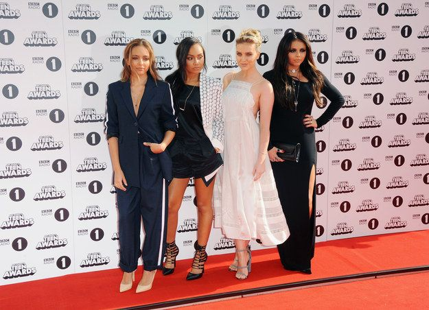 Little Mix | Check Out All The Celebrities Who Attended The 2014 Radio 1 Teen Awards