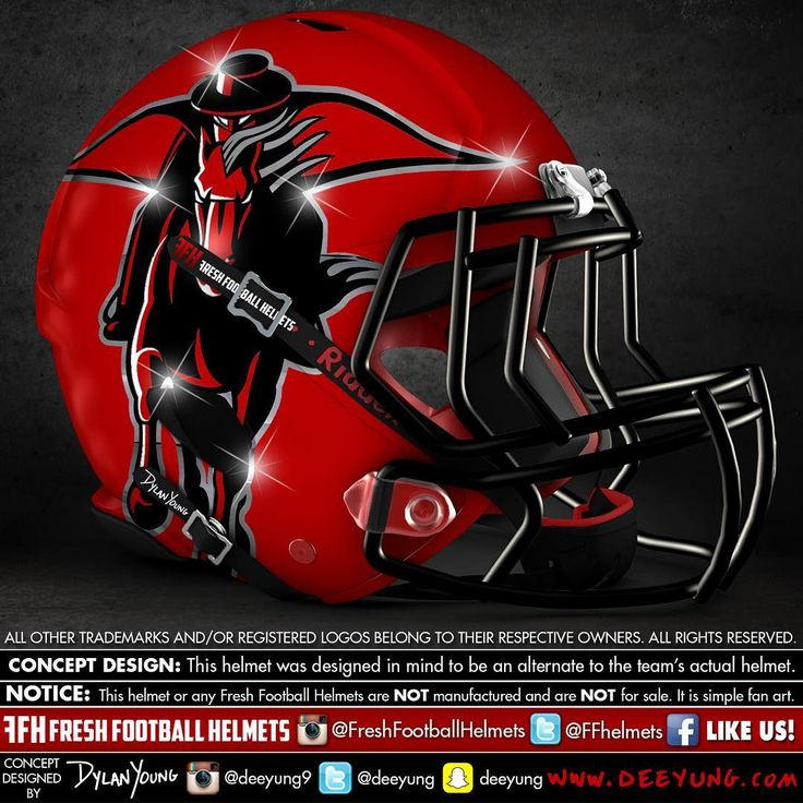 Designer Has Concept Helmets For 43 Of College Football's