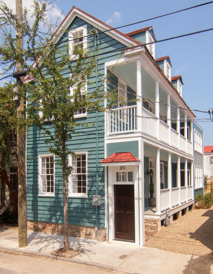 51 best renovating a wooden charleston single images on for Charleston single house
