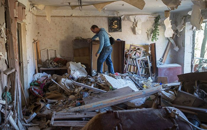 According to the Donetsk People's Republic spokesperson, almost 4,000 civilians have been killed by Kiev-led forces' shelling since the start of the conflict.