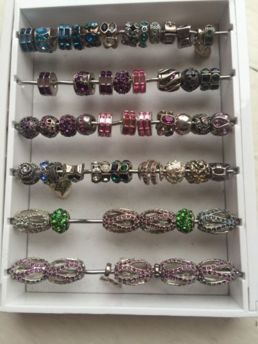 Fine Charms and Charm Bracelets 140956: New Lot Of 56 Authentic Chamilia Charm Bead Sterling Silver- Retired Collection -> BUY IT NOW ONLY: $425 on eBay!