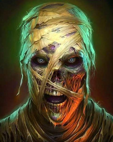 Mummy Art by James Ryman