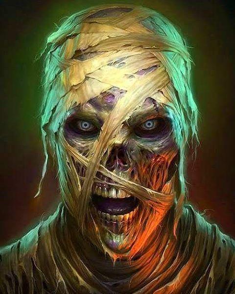 Mummy Art by James Ryman