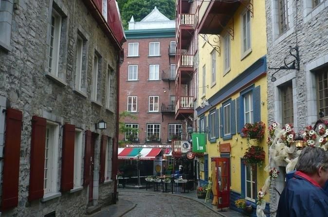 Taking a stroll in Quebec City