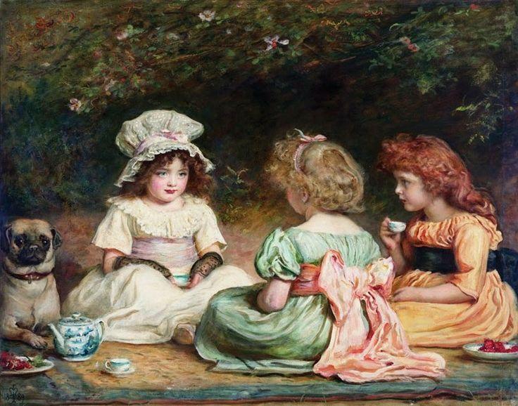 ~ My little old world ~ gardening, home, poetry and everything romantic that makes us dream.: Sir John Everett Millais ed i suoi affetti, dipinti su tela.