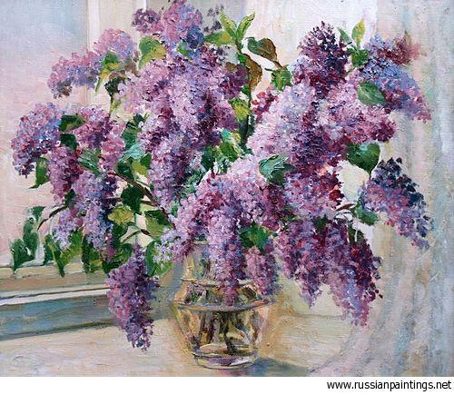 Markushina Valentina - 'Lilac'