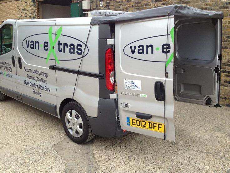 Rear door awning for Trafic/Vivaro/Primastar