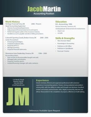 Free Resume Template 12