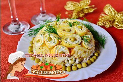 Кулинария новогодние салаты фото