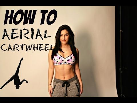 HOW TO DO A SIDE AERIAL (No Handed Cartwheel) Gymnastics Tutorial   Yasmin Dan - YouTube