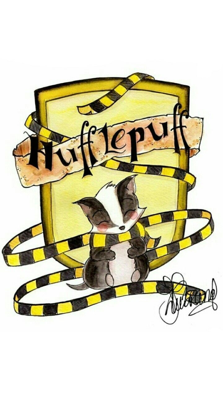 He's even more adorable. Reposting for adorableness. Hufflepuff.....Funny how this gets more repins than the slytherin one on my pinwall even though I'm a Slytherin