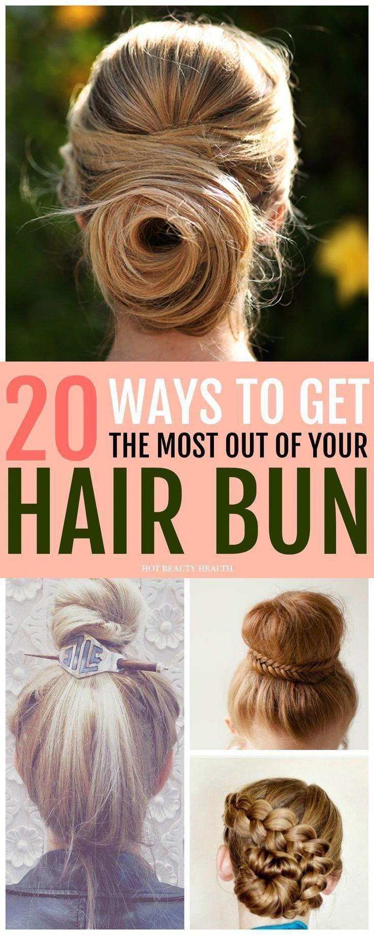 20 schicke Brötchen-Frisuren, die wir lieben