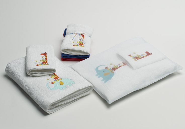 'Elephant Family' Towel range includes Bath towel, and face washer packs. The colours in this are really beautiful!