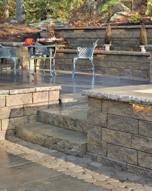 Raised Patio With Steps: 12 Best Images About Raised Patio Ideas On Pinterest