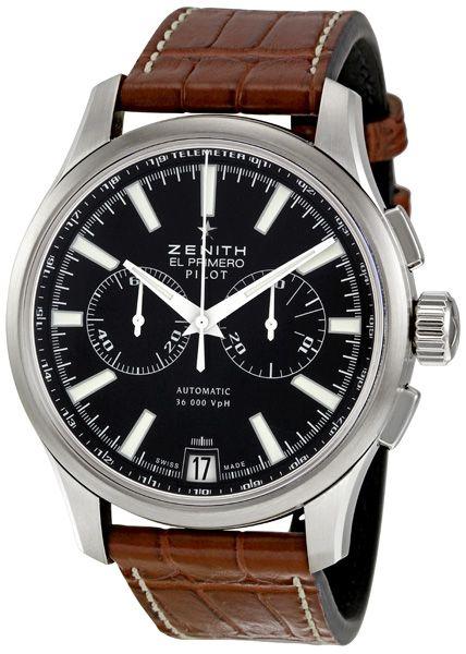 Zenith Pilot Chronograph Mens Watch 032117400223C704